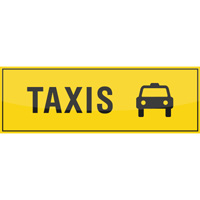 Support de communication au sol - Taxis
