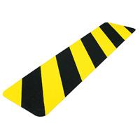 Bande adhésive antidérapante jaune et noir