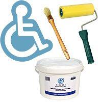 Pack pochoir souple fauteuil roulant