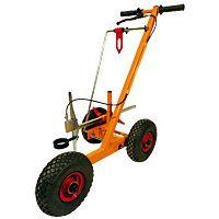 Chariot de traçage à roues gonflables