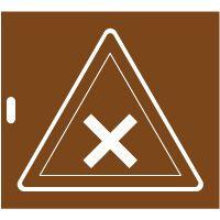 Pochoir danger matières nocives ou irritantes