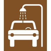 Pochoir lavage voiture