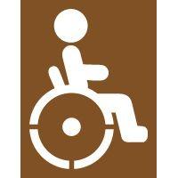 Pochoir pour place handicapée