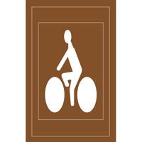 Pochoir voie cycliste