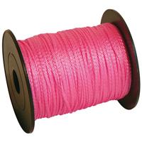 Cordeau tressé en polypropylène fluo