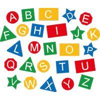 Jeu thermocollant l'alphabet géométrique