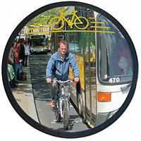 Miroir pour la sécurité des 2 roues