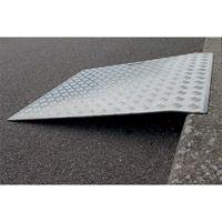 Rampe d'accès faible dénivelé aluminium