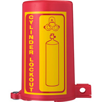 Système de verrouillage de bouteille de gaz