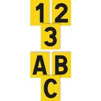 Lot 10 plaquettes chiffres et lettres