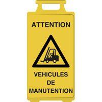 Chevalet de signalisation véhicules de manutention