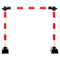 Barrière de protection de chantier modulable