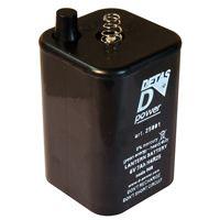 Batterie 4R25 6 Volts