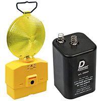 Pack lampe de chantier avec piles