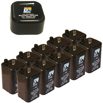 Pack batteries 4R25 7Ah