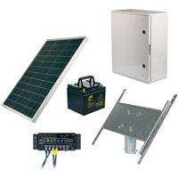 Alimentation solaire pour signalisation lumineuse
