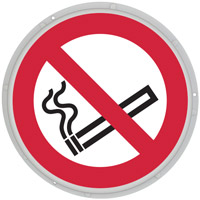 Panneau lumineux interdit de fumer