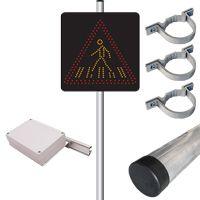Pack panneau dynamique 220V et détecteur A13b