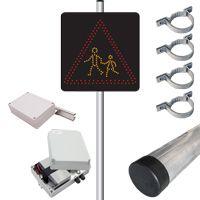 Pack panneau dynamique SEP et détecteur A13a