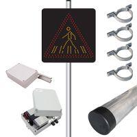 Pack panneau dynamique SEP et détecteur A13b