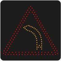 Panneau lumineux dynamique à leds A1b