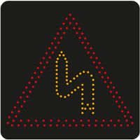 Panneau lumineux dynamique à leds A1d