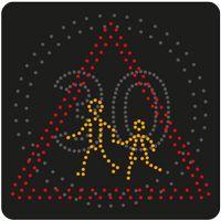 Panneau lumineux dynamique à leds B14 et A13a