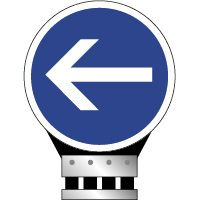 Panneau auto-relevable B21-2