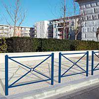 Barrière de ville Province Agora simple croix