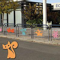 Barrière conviviale école avec animation 206564