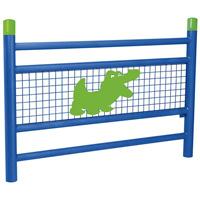 Barrière pour école motif crocodile