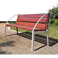 Banc Silaos accoudoir Arc