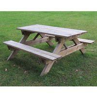 Table de pique-nique en bois Fontou