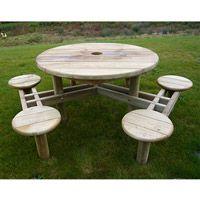 Table de pique-nique en bois Muscat