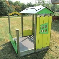 Cabane de jeux pour enfants Mississipi