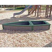 Bac à sable pour enfants barque
