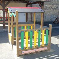 Cabane en bois pour enfants Lou