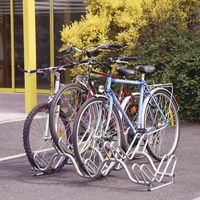 Support pour cycles côte à côte