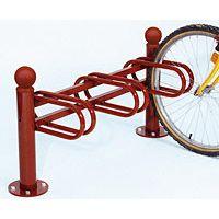 Support cycles déco 3 rangées simple face