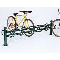 Support cycles déco 6 rangées double face