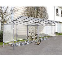 Extension 5 places pour abri cycles sans bardage