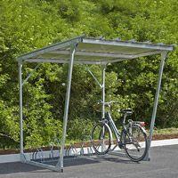 Abri cycles acier éco