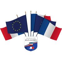 Pack 5 drapeaux écusson personnalisé