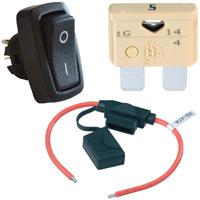 Kit de câblage pour feu tournant à LED