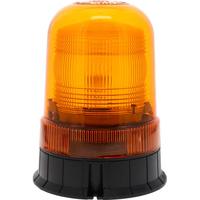 Gyrophare à éclats xénon orange à embase plate