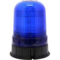 Gyrophare à éclats xénon bleu à embase plate