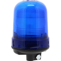 Gyrophare à éclats xénon bleu à embase tube