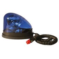Gyrophare halogène bleu GDO
