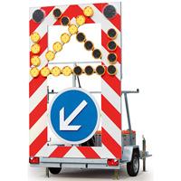 Remorque FLR de signalisation lumineuse