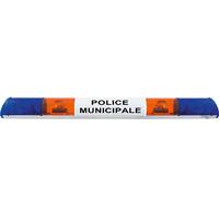 Rampe lumineuse halogène police municipale